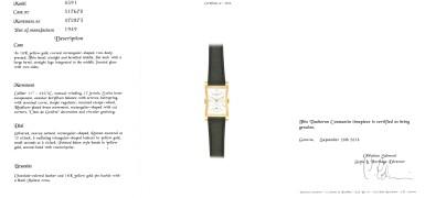 VACHERON CONSTANTIN | YELLOW GOLD GENTLEMAN'S WRISTWATCH, REF 4591