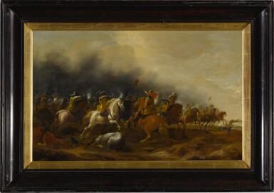 View 3. Thumbnail of Lot 73. Cavalry skirmish.