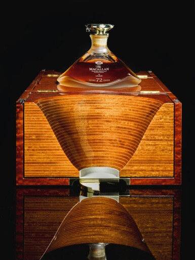 View 4. Thumbnail of Lot 21. The Macallan In Lalique Genesis Decanter 72 Year Old 42.0 abv NV  .