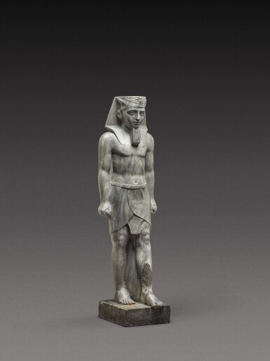 View 3. Thumbnail of Lot 115. French, in Ancient Egyptian Style | Pharaoh.