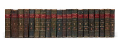 View 3. Thumbnail of Lot 338. The Naval Chronicle. 1799-1818. 40 volumes.