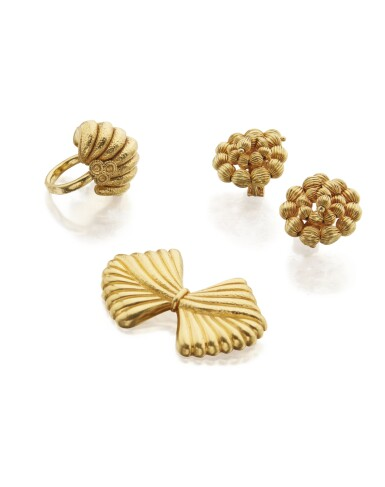 View 2. Thumbnail of Lot 107. GROUP OF GOLD JEWELRY, ILIAS LALAOUNIS.