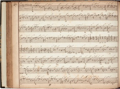 View 7. Thumbnail of Lot 65. Lute. Important manuscript of German, Austrian and French lute music, including by S.L. Weiss, c.1750 or later?.