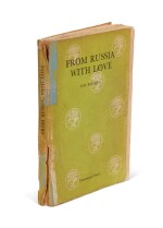 FLEMING | From Russia, with Love, 1957, uncorrected proof