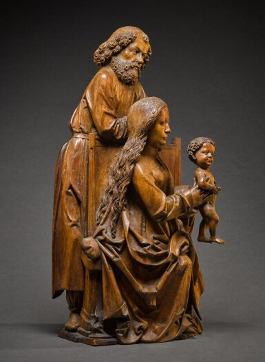 View 3. Thumbnail of Lot 9. WORKSHOP OF TILMAN RIEMENSCHNEIDER  | THE HOLY FAMILY.