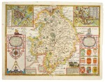 English county maps | a collection of 20 engraved or woodcut maps, [sixteenth-nineteenth century]