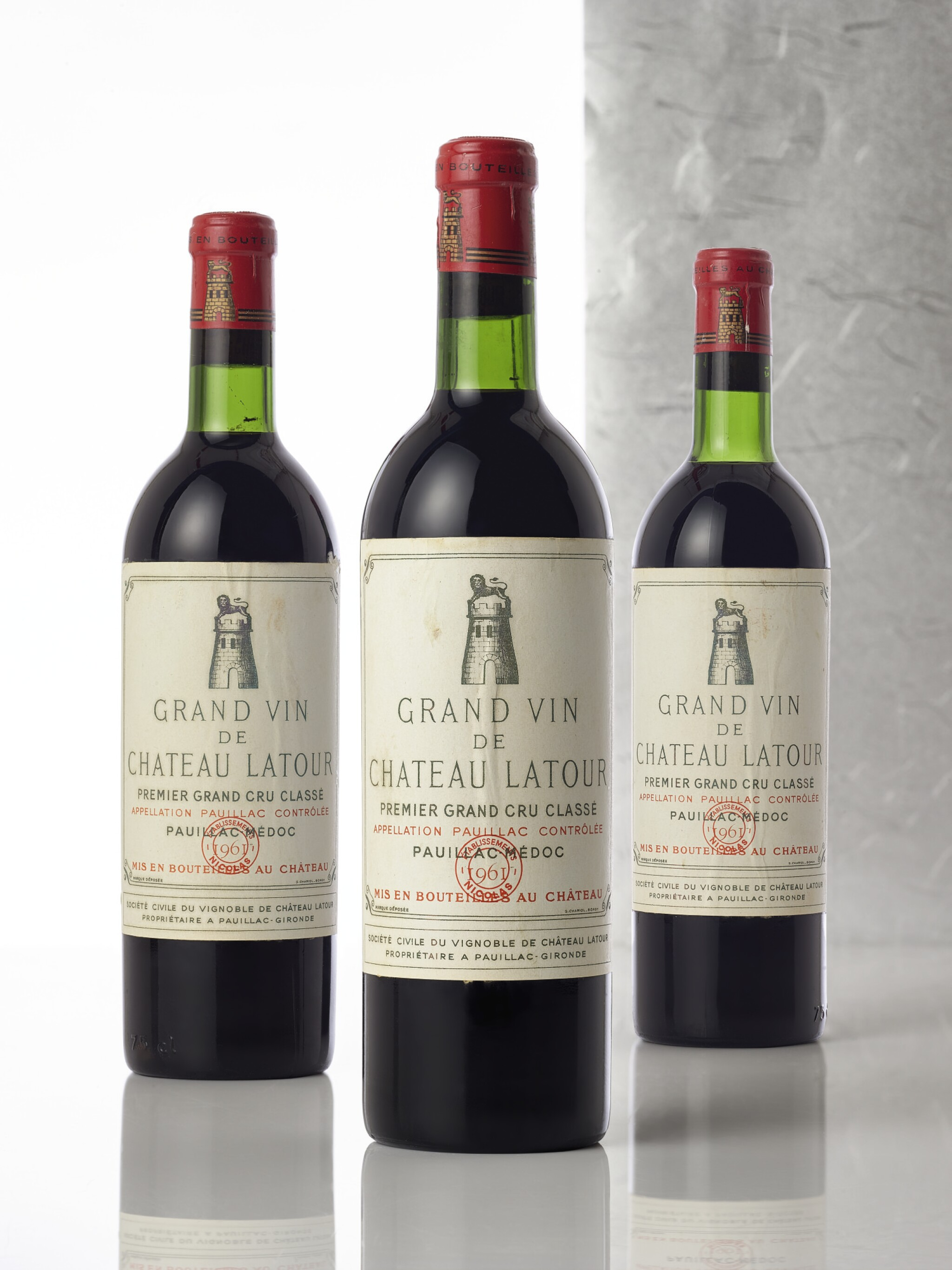 View full screen - View 1 of Lot 5126. Château Latour 1961 (5 BT).