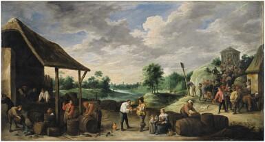 View 1. Thumbnail of Lot 12. The Wine Harvest |《葡萄酒收穫》.