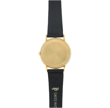 View 4. Thumbnail of Lot 25. REFERENCE 3445 A YELLOW GOLD AUTOMATIC WRISTWATCH WITH DATE, MADE IN 1972.