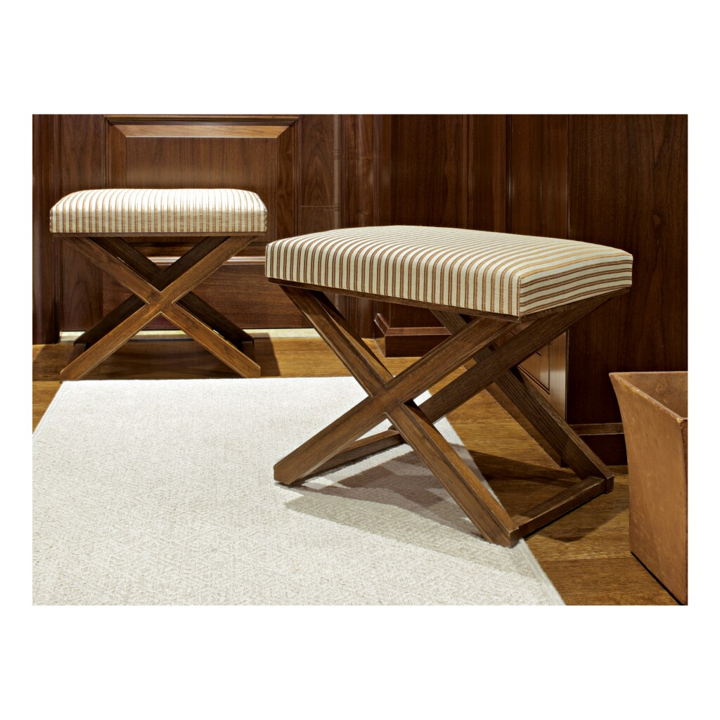 JEAN-MICHEL FRANK | PAIR OF STOOLS