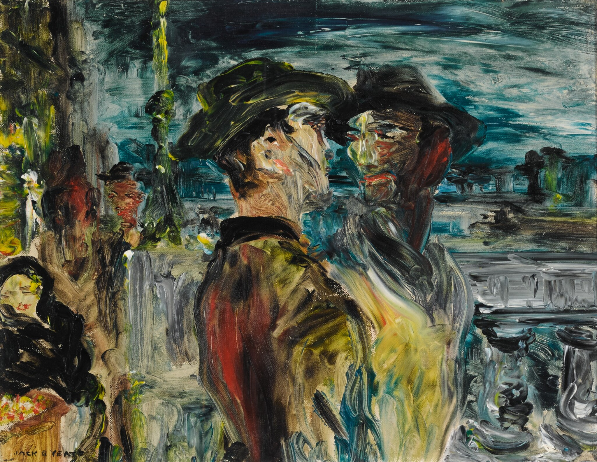 JACK B. YEATS, R.H.A.   YOUNG MEN