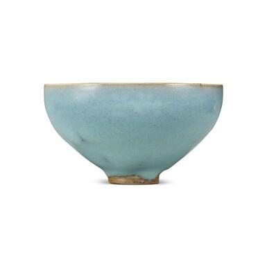 View 1. Thumbnail of Lot 193. A 'Jun' deep bowl, Northern Song / Jin dynasty | 北宋 / 金 鈞窰天藍釉盌.