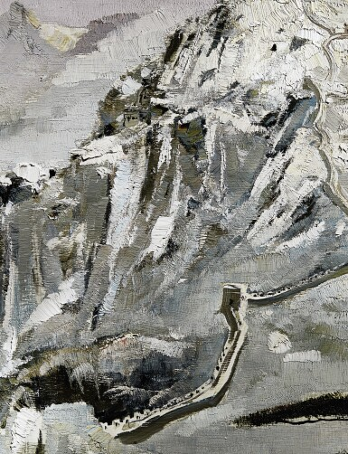 View 4. Thumbnail of Lot 1013.  WU GUANZHONG 吳冠中 | SCENERY OF NORTHERN CHINA 北國風光.