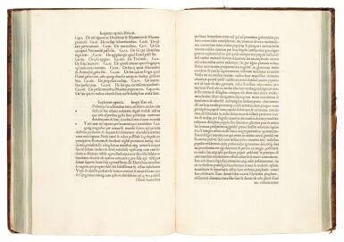 Eusebius, Historia ecclesiastica, Mantua, 1479, later calf, arms of Pius VI