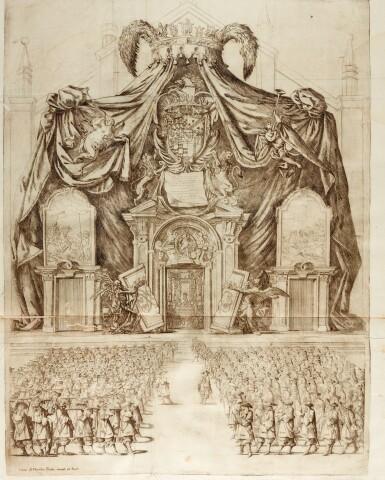 Tellez-Giron, Teatro de la Gloria Consagrado, [Milan, 1671], contemporary limp vellum