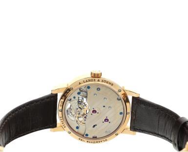 View 6. Thumbnail of Lot 296. Reference 730.032F 1815 Tourbillon   A pink gold tourbillon wristwatch with zero-reset mechanism, Circa 2016 .