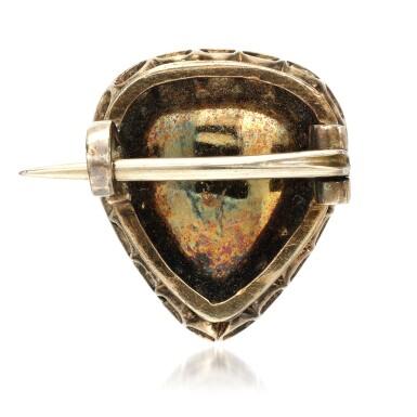 View 4. Thumbnail of Lot 22. Diamond brooch, mid 19th century.