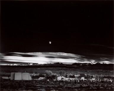 View 1. Thumbnail of Lot 30. ANSEL ADAMS  |  'MOONRISE', HERNANDEZ, NEW MEXICO, 1941.