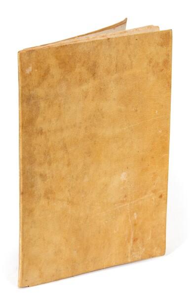 View 3. Thumbnail of Lot 137. Menasseh ben Israel, Gratulaçao, Amsterdam, 1642, later vellum, folding box.