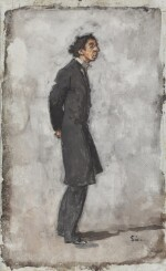 WALTER RICHARD SICKERT, A.R.A. | A CHILD OF THE GHETTO, MR ISRAEL ZANGWILL
