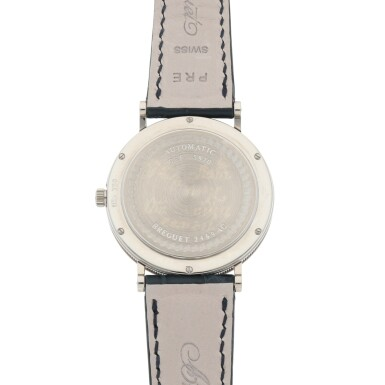 View 4. Thumbnail of Lot 430. CLASSIQUE, REF 5920 WHITE GOLD WRISTWATCH WITH DATE CIRCA 2010.