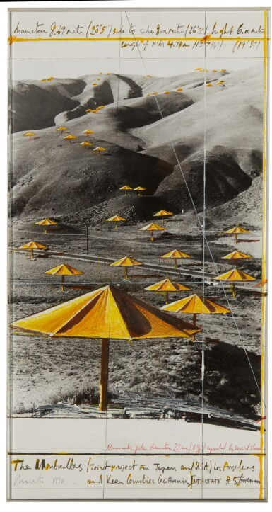 View 2. Thumbnail of Lot 60. The Umbrellas (joint project for Japan and USA).
