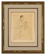 MARY CASSATT   NURSING (BREESKIN 135)