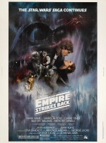 THE EMPIRE STRIKES BACK, US STYLE A POSTER, ROGER KASTEL, 1980