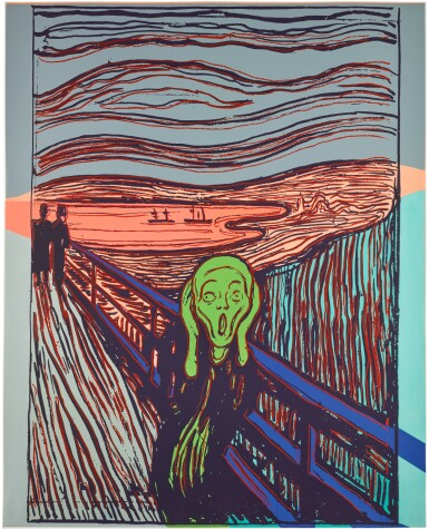 View 1. Thumbnail of Lot 178.  ANDY WARHOL | THE SCREAM (AFTER MUNCH) (SEE F. & S. IIIA.58).