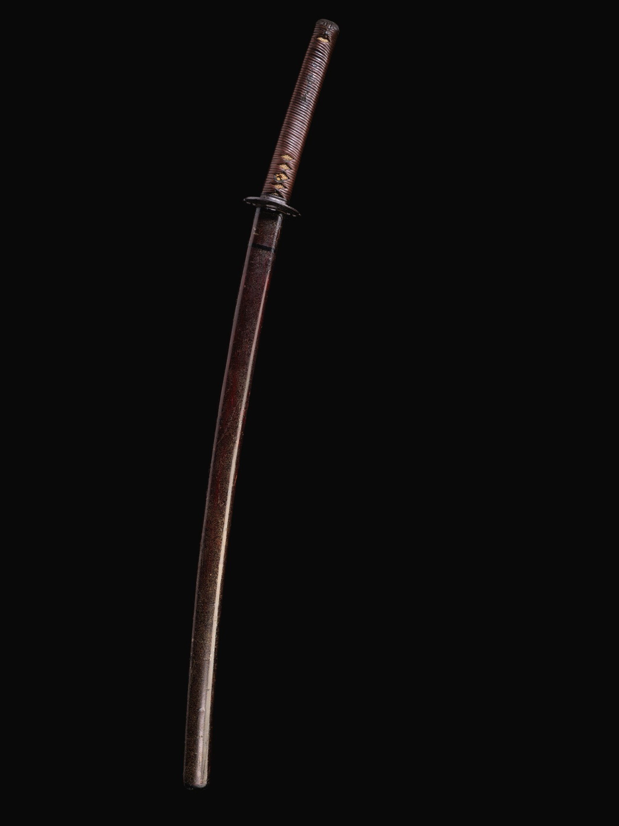 View full screen - View 1 of Lot 35. TWO SHIN-SHINTO KATANA, EDO PERIOD | 18TH CENTURY.