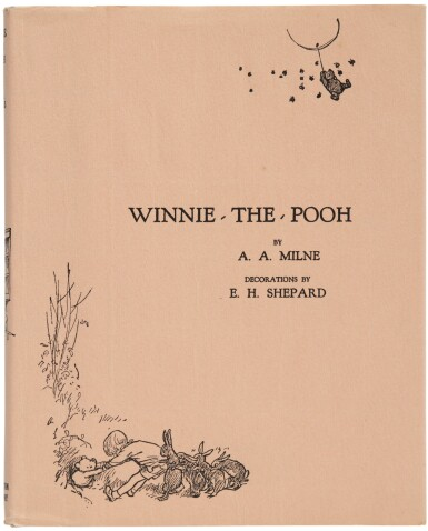 View 2. Thumbnail of Lot 163. MILNE, A. A.  | Winnie-the-Pooh. New York: E. P. Dutton, (1926).