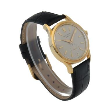 View 3. Thumbnail of Lot 82. Ref. 3403 Yellow gold wristwatch Made in 1958 | 百達翡麗 3403型號黃金腕錶,1958年製.