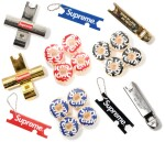 A GROUP OF 18 SUPREME SKATEBOARDING ACCESSORIES