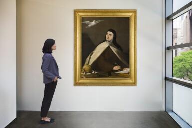View 4. Thumbnail of Lot 17. Saint Teresa of Avila (1515–1582) |《亞維拉聖德蘭(1515-1582年)》.
