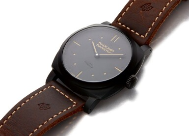 View 2. Thumbnail of Lot 17. PANERAI | RADIOMIR PAM00577, A MATTE BLACK CERAMIC WRISTWATCH WITH POWER RESERVE CIRCA 2016.
