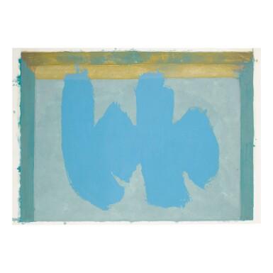 ROBERT MOTHERWELL   BLUE ELEGY (WALKER ART CENTER 379)