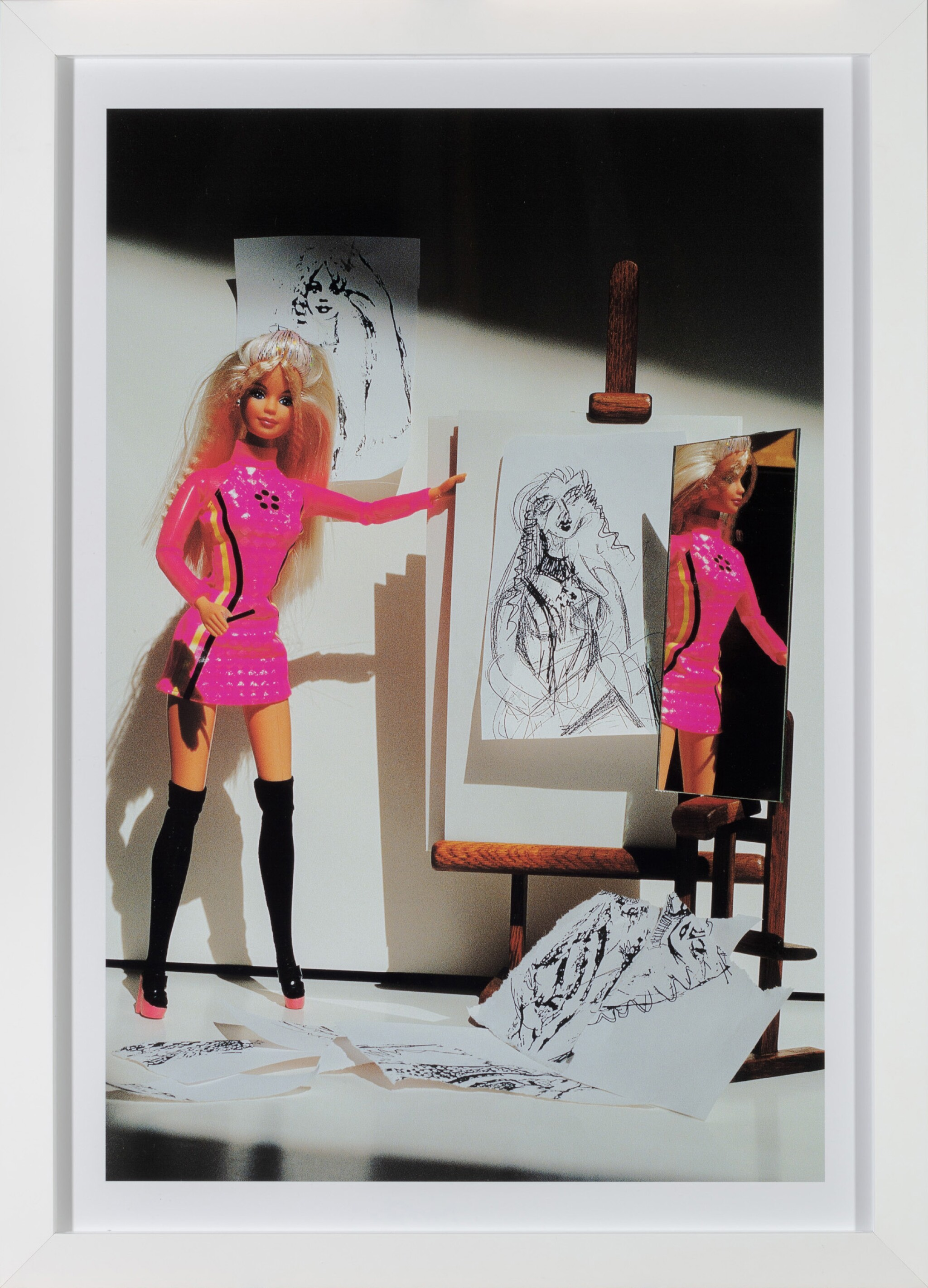 View full screen - View 1 of Lot 56. Barbie Self Portrait 1.