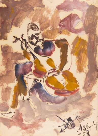 View 1. Thumbnail of Lot 155. ANATOLY ZVEREV | Two Compositions.