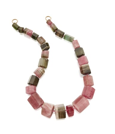 View 3. Thumbnail of Lot 80. TOURMALINE NECKLACE, PALOMA PICASSO FOR TIFFANY & CO..