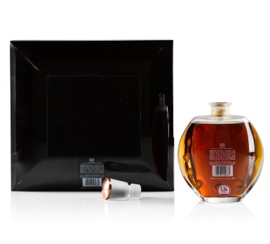 View 2. Thumbnail of Lot 17. The Macallan 60 Year Old in Lalique, 6 Pillars, Fourth Edition, 53.2 abv NV .