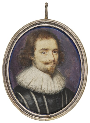 PETER OLIVER | PORTRAIT OF A GENTLEMAN, TRADTIONALLY IDENTIFIED AS ROBERT DEVEREUX, 3RD EARL OF ESSEX, CIRCA 1620