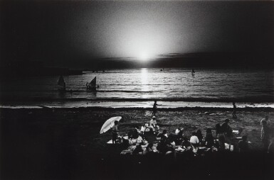 View 1. Thumbnail of Lot 42. Untitled (Picnic on the Beach).