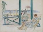 Untitled (Femme sur la plage)