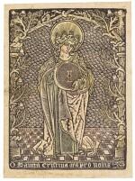 Saint Christina (Schreiber, Vol. V, no. 2589)