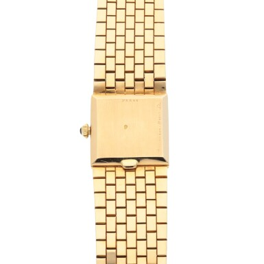 BOUCHERON | REF BT1203255 YELLOW GOLD BRACELET WATCH CIRCA 1970