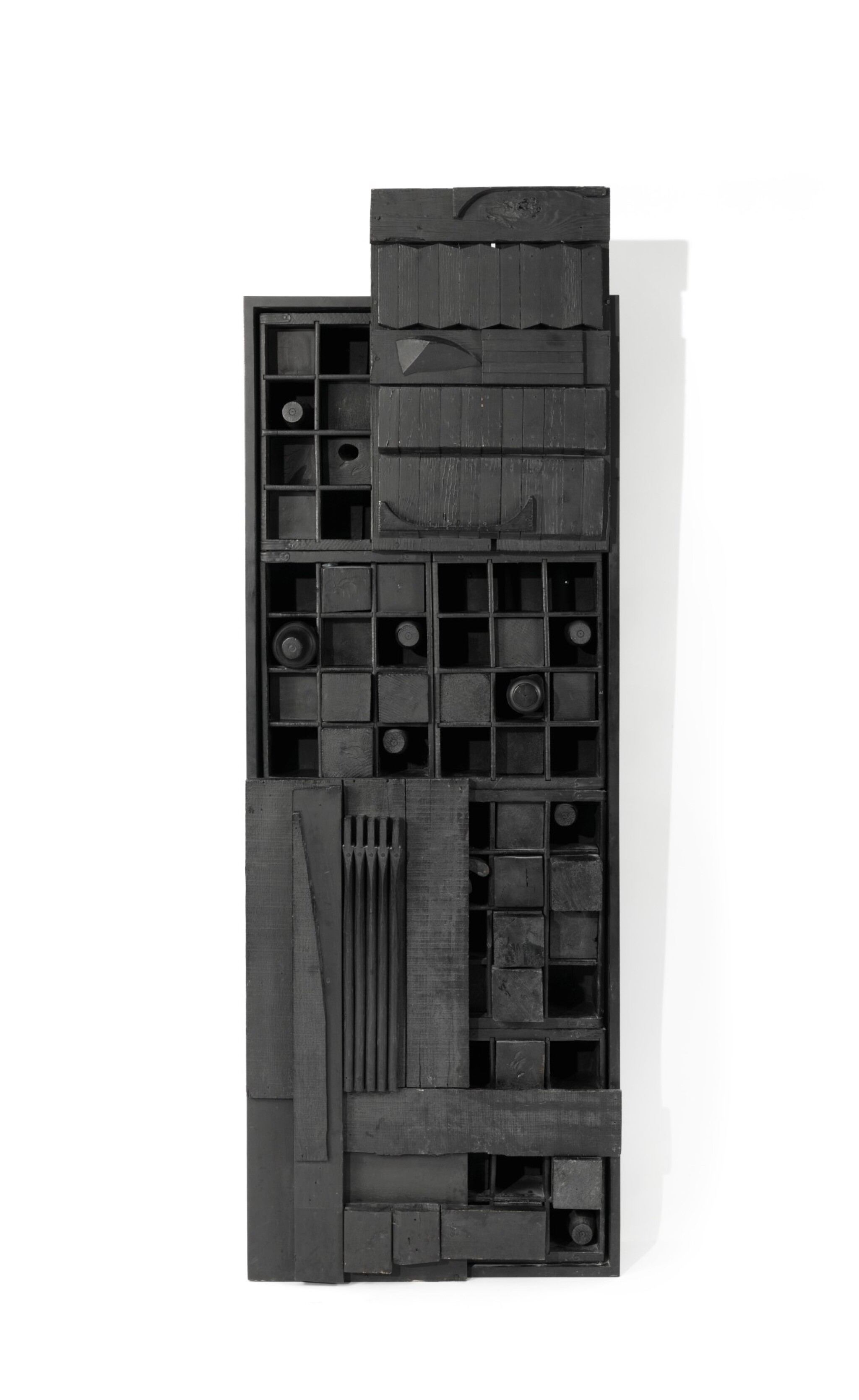 View full screen - View 1 of Lot 504. LOUISE NEVELSON   WALL RELIEF.