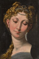 FOLLOWER OF GIROLAMO FRANCESCO MARIA MAZZOLA, CALLED PARMIGIANINO | THE MADONNA
