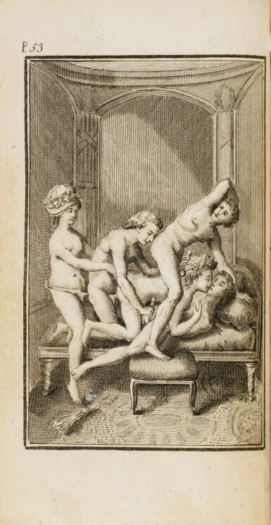 View 3. Thumbnail of Lot 39. La philosophie dans le boudoir. [Paris], 1795. 2 vol. in-12. Reliure de l'époque. Rare édition orignale..