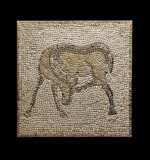 A Byzantine Mosaic Fragment, 5th/6th Century A.D.
