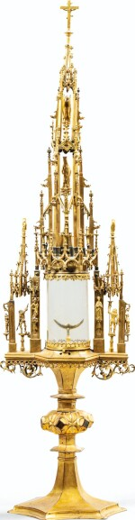 GERMAN, IN 15TH CENTURY STYLE | A MONSTRANCE